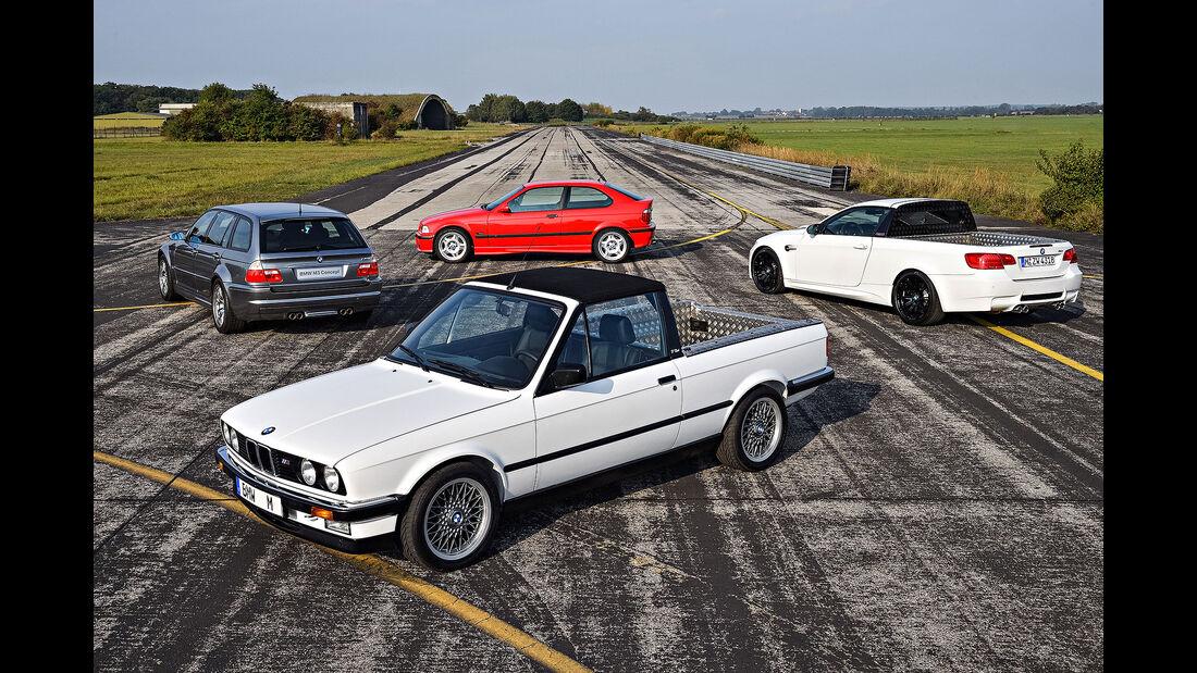 BMW M3 Sondermodelle Pickup, Touring Compact