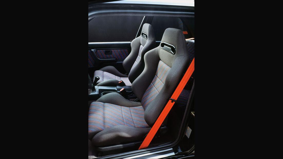 BMW M3 Sport Evolution (E30) - Sondermodell - Innenraum