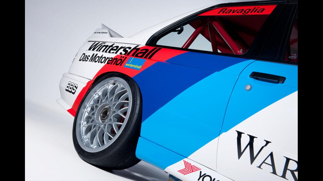 BMW M3 Sport Evolution, Hinterrad