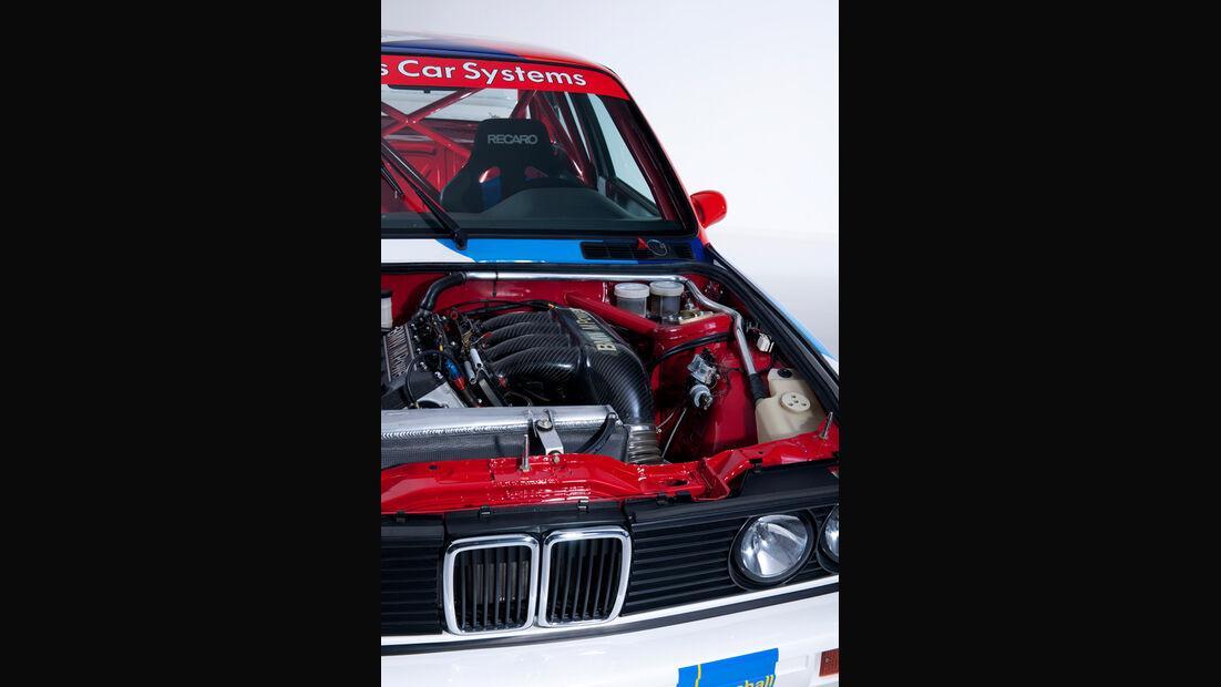 BMW M3 Sport Evolution, Motor, Motorhaube