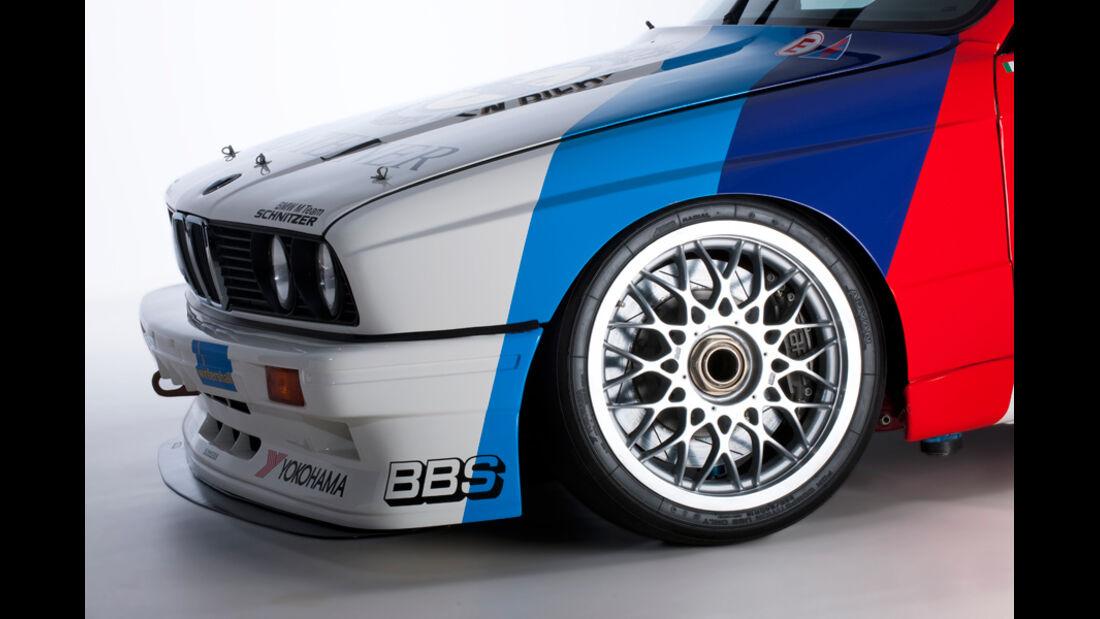 BMW M3 Sport Evolution, Schnauze, Vorderrad
