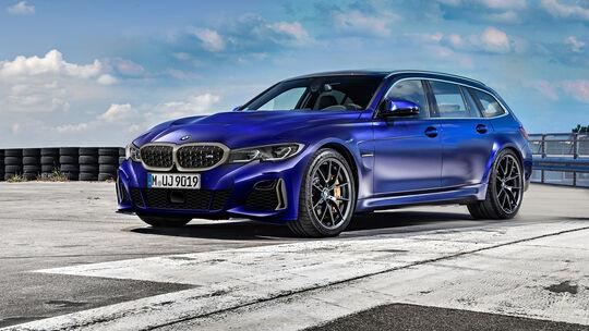 BMW M3 Touring Front M340i Retusche