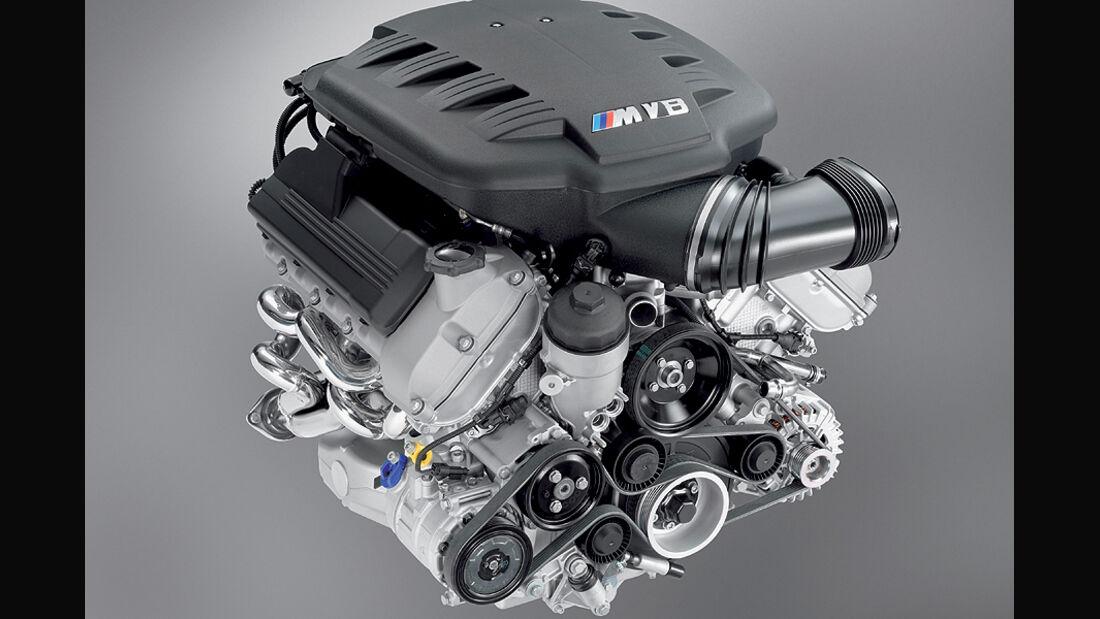 BMW M3, V8-Motor, E90