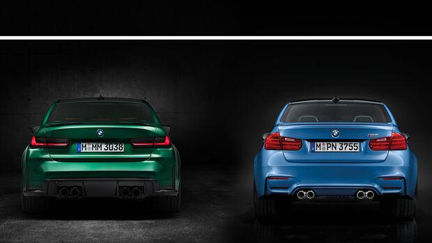 BMW M3 alt neu vorgänger check