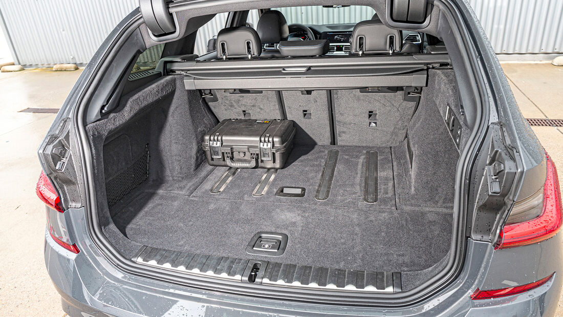 BMW M340d Touring xDrive, Interieur