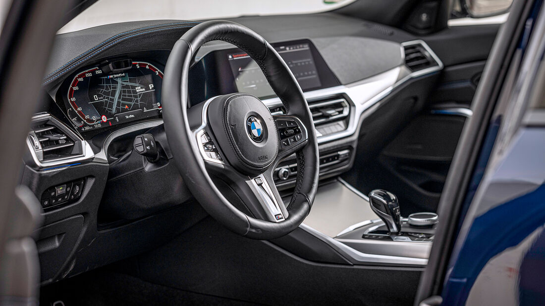 BMW M340d xDrive, Interieur