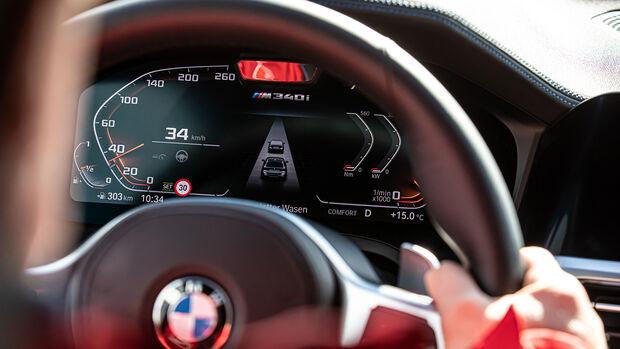BMW M340i, Interieur
