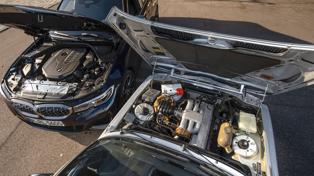 BMW M340i xDrive (G20) und  323i (e21) Fahrbericht