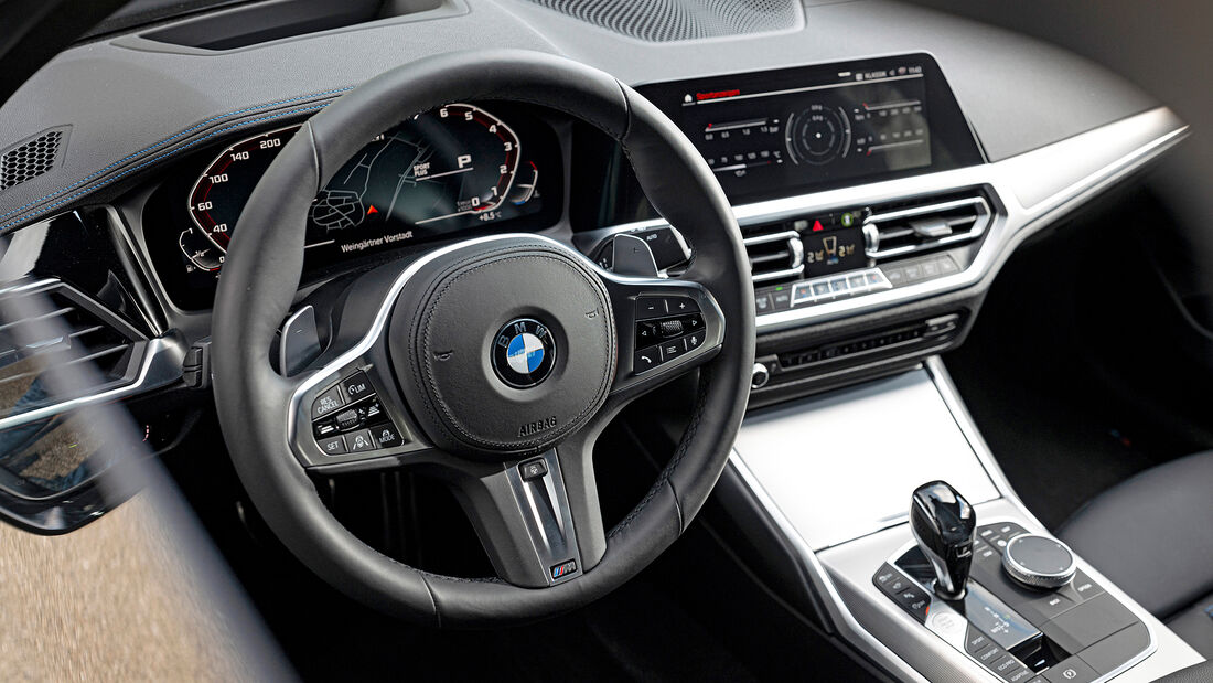 BMW M340i xDrive, Interieur