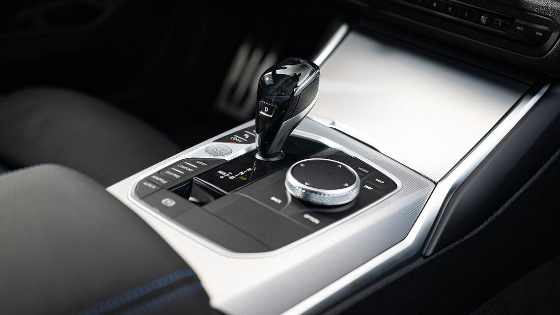 BMW M340i xDrive, Mittelkonsole