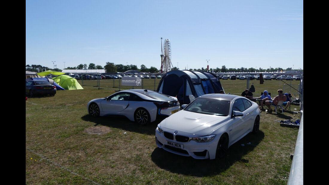 BMW M4 - BMW i8 - Carspotting - Fan-Autos - 24h-Rennen Le Mans 2017