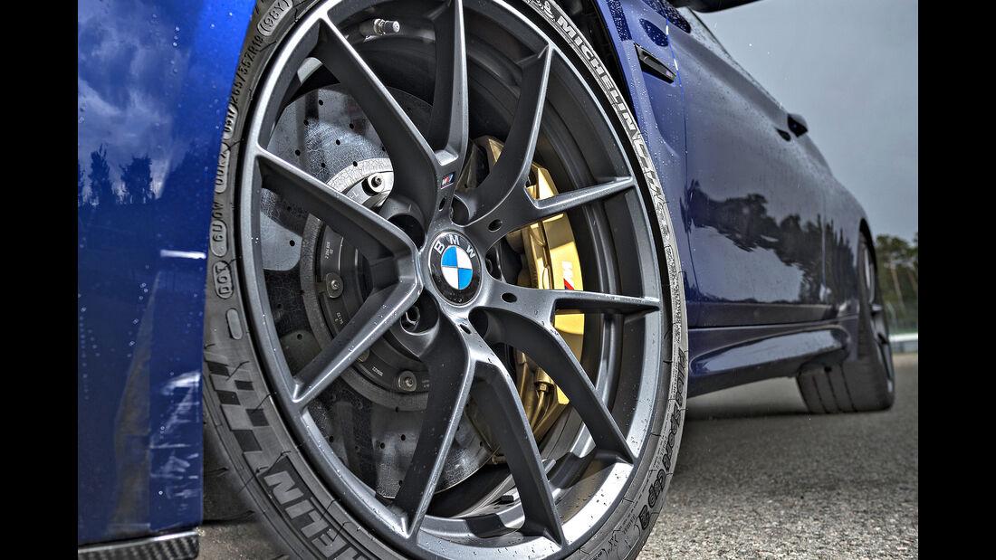 BMW M4 CS, Einzeltest, Felge