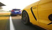 BMW M4 CS, Mustang Shelby GT350, Außenansicht