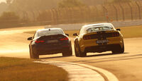 BMW M4 CS, Mustang Shelby GT350, Heck