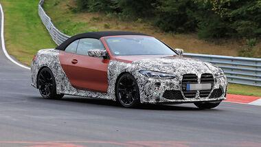 BMW M4 Cabrio Erlkönig