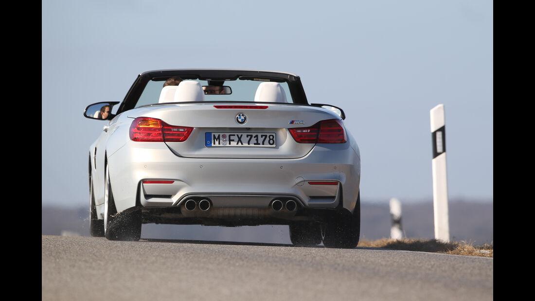 BMW M4 Cabrio, Heckansicht