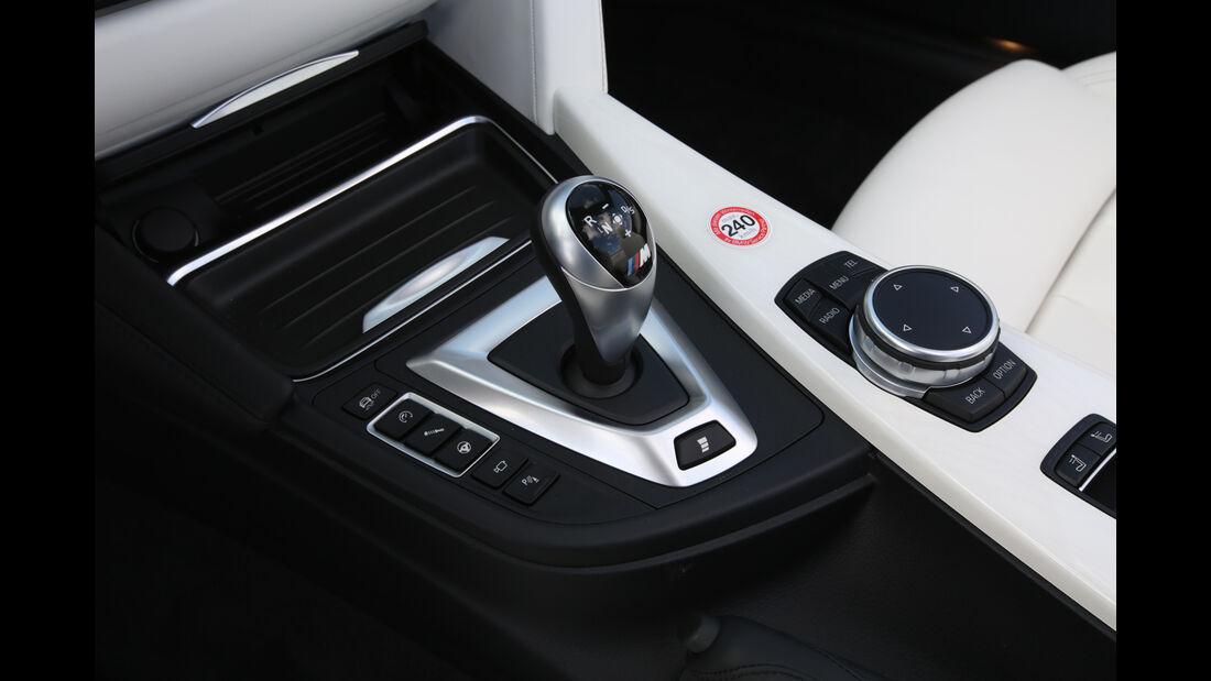 BMW M4 Cabrio, Schaltung