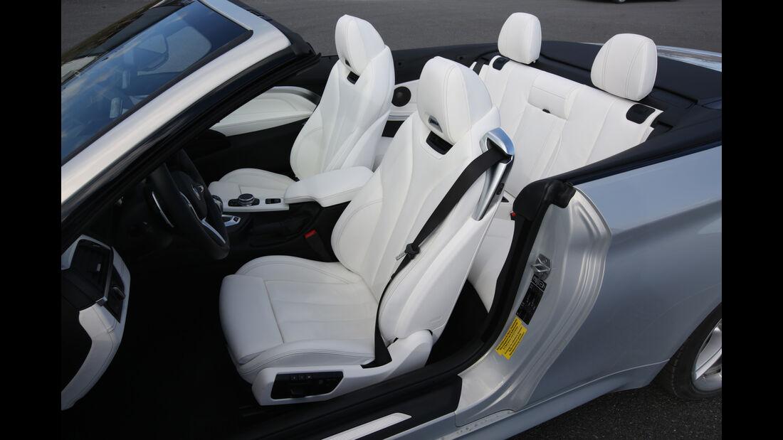 BMW M4 Cabrio, Sitze