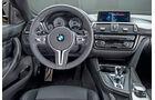BMW M4, Cockpit, Lenkrad