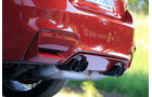 BMW M4 Competition, Auspuff