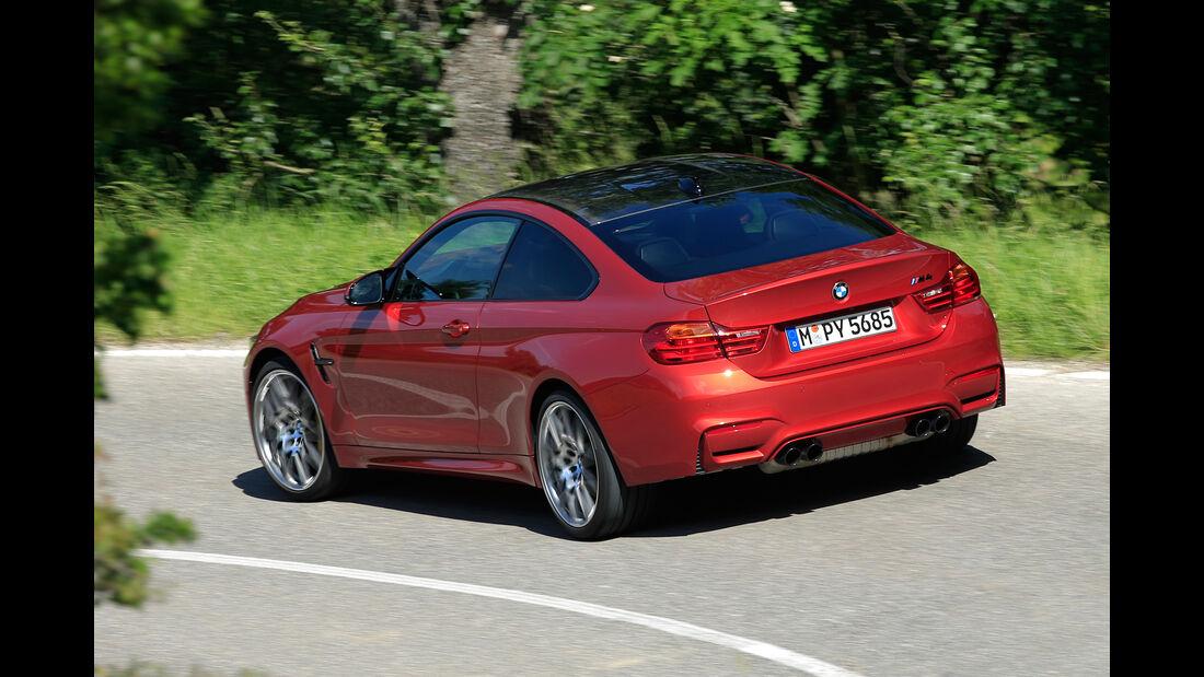 BMW M4 Competition, Heckansicht