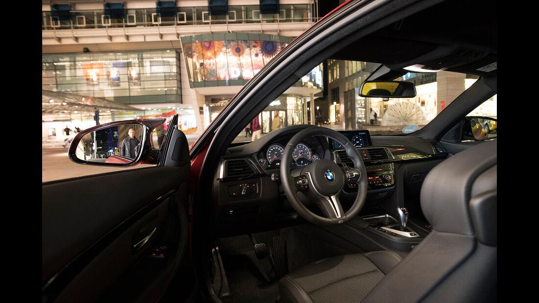 BMW M4 Competition, Interieur