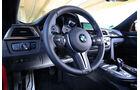 BMW M4 Competition, Lenkrad