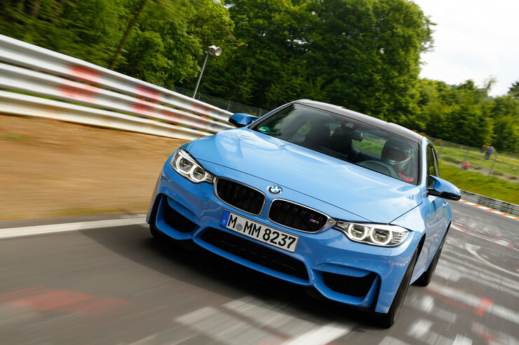 BMW M4 Coupé, Frontansicht
