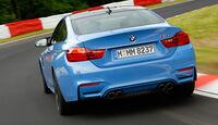 BMW M4 Coupé, Heckansicht