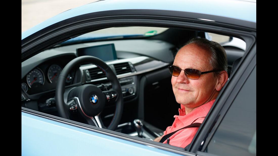 BMW M4 Coupé, Horst von Saurma