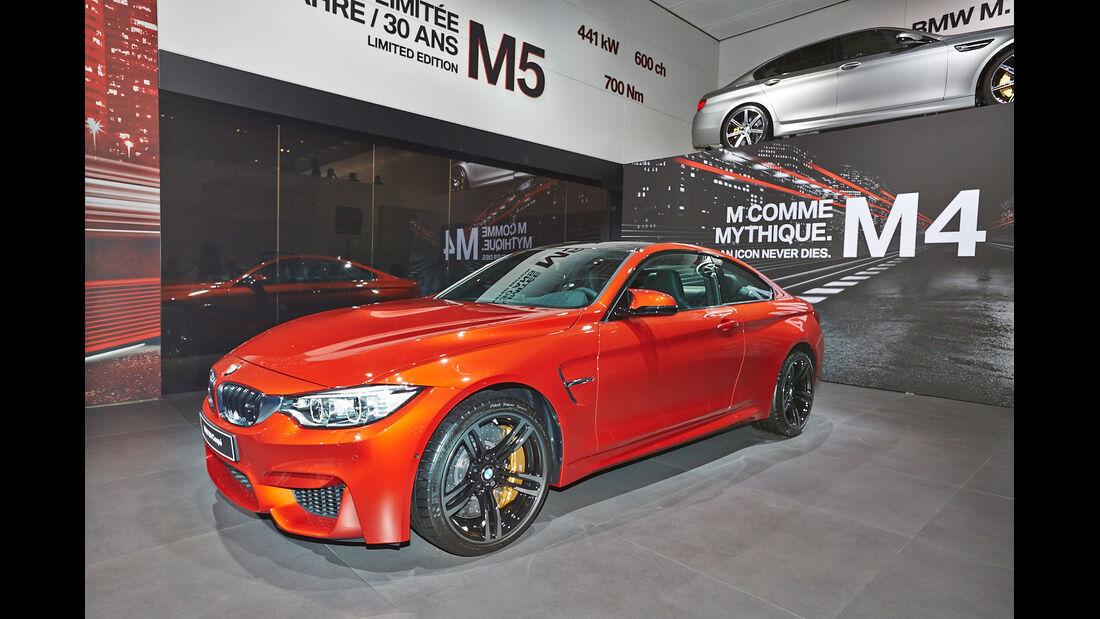 BMW M4, Coupé, Pariser Autosalon