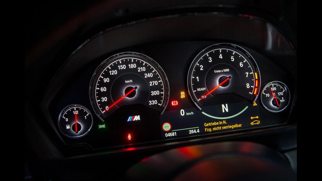 BMW M4 Coupé, Rundinstrumente