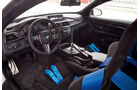 BMW M4 Coupé Safety Car, Cockpit