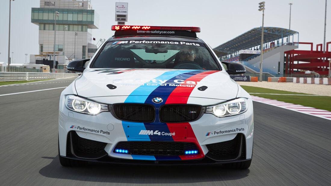 BMW M4 Coupé Safety Car, Frontansicht