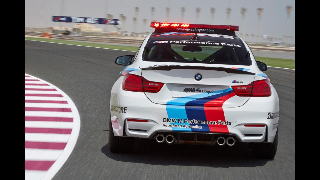BMW M4 Coupé Safety Car, Heckansicht