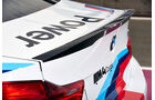 BMW M4 Coupé Safety Car, Heckspoiler
