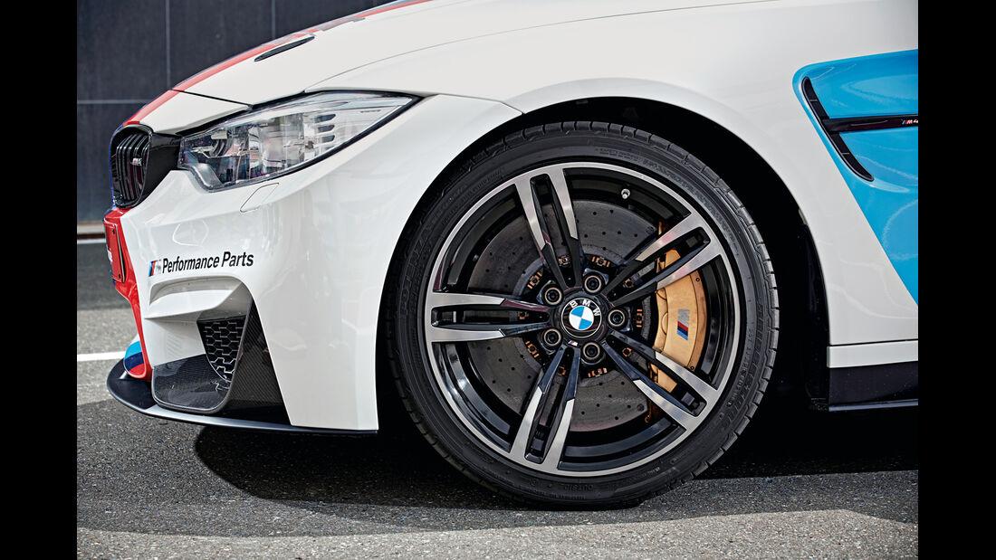 BMW M4 Coupé Safety Car, Rad, Felge, Bremse
