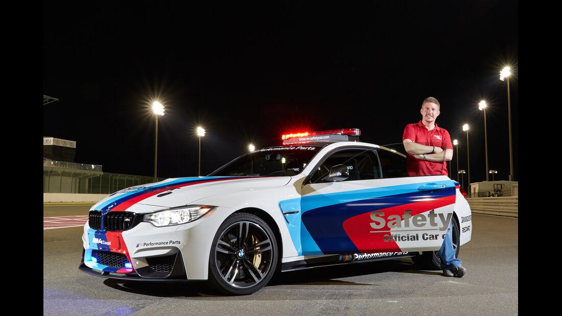 BMW M4 Coupé Safety Car, Seitenansicht