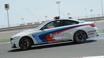 BMW M4 Coupé Safety Car, Seitenansicht