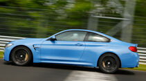 BMW M4 Coupé, Seitenansicht
