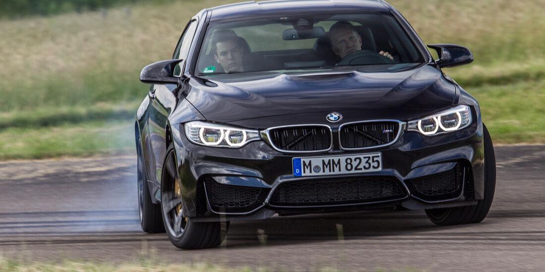 BMW M4, Frontansicht, Driften