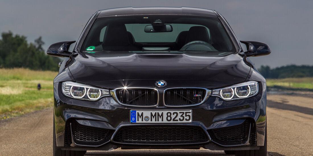 BMW M4, Frontansicht