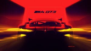 BMW M4 GT3 - Rennwagen