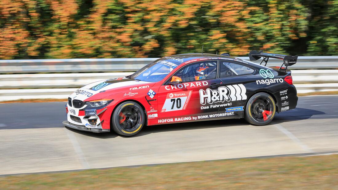 BMW M4 GT4 - Hofor Racing by Bonk Motorsport - Startnummer #70 - Klasse: SP10 - 24h-Rennen - Nürburgring - Nordschleife - 24. bis 27. September 2020