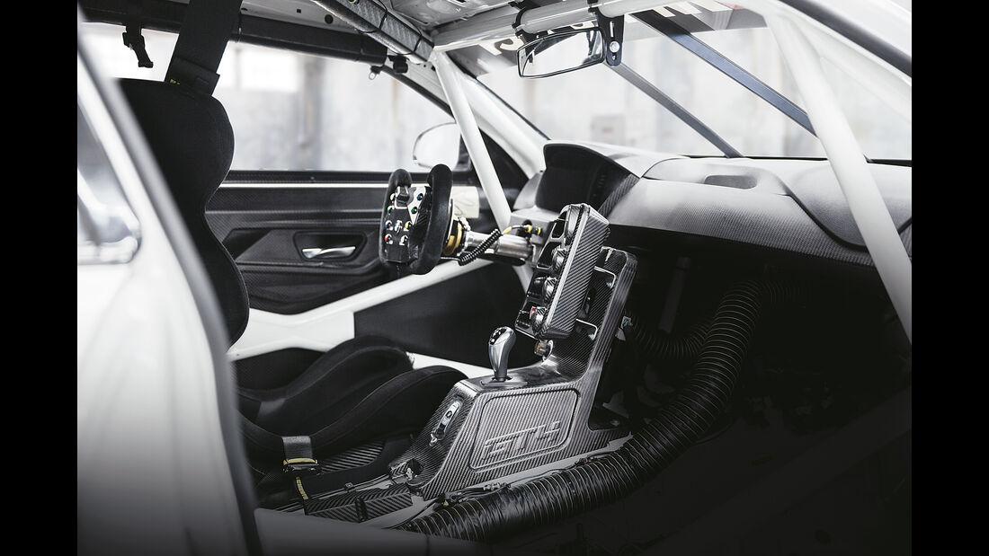 BMW M4 GT4, Interieur, Technik