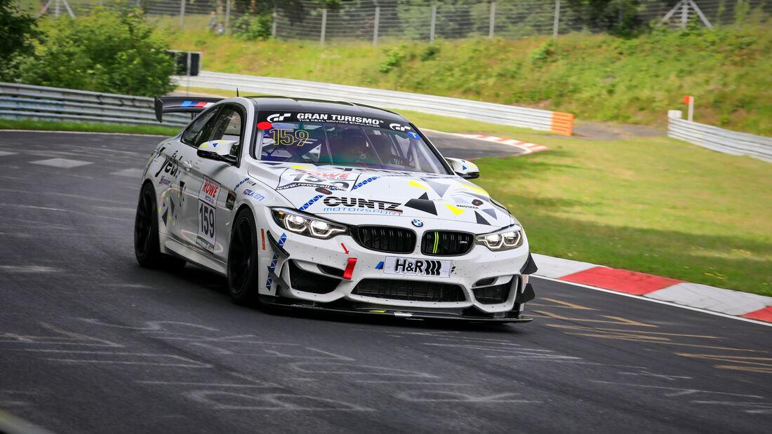 BMW M4 GT4 - Startnummer #159 - Yeeti Racing - SP4T + SP8T - NLS 2021 - Langstreckenmeisterschaft - Nürburgring - Nordschleife