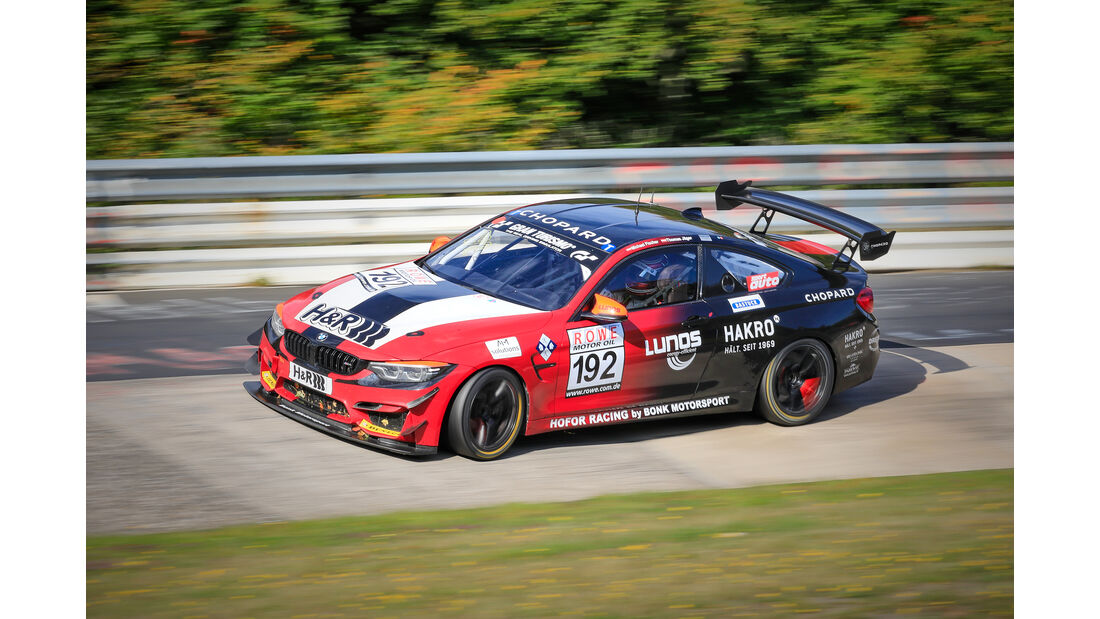BMW M4 GT4 - Startnummer #192 - Hofor Racing by Bonk Motorsport - SP10 - VLN 2019 - Langstreckenmeisterschaft - Nürburgring - Nordschleife