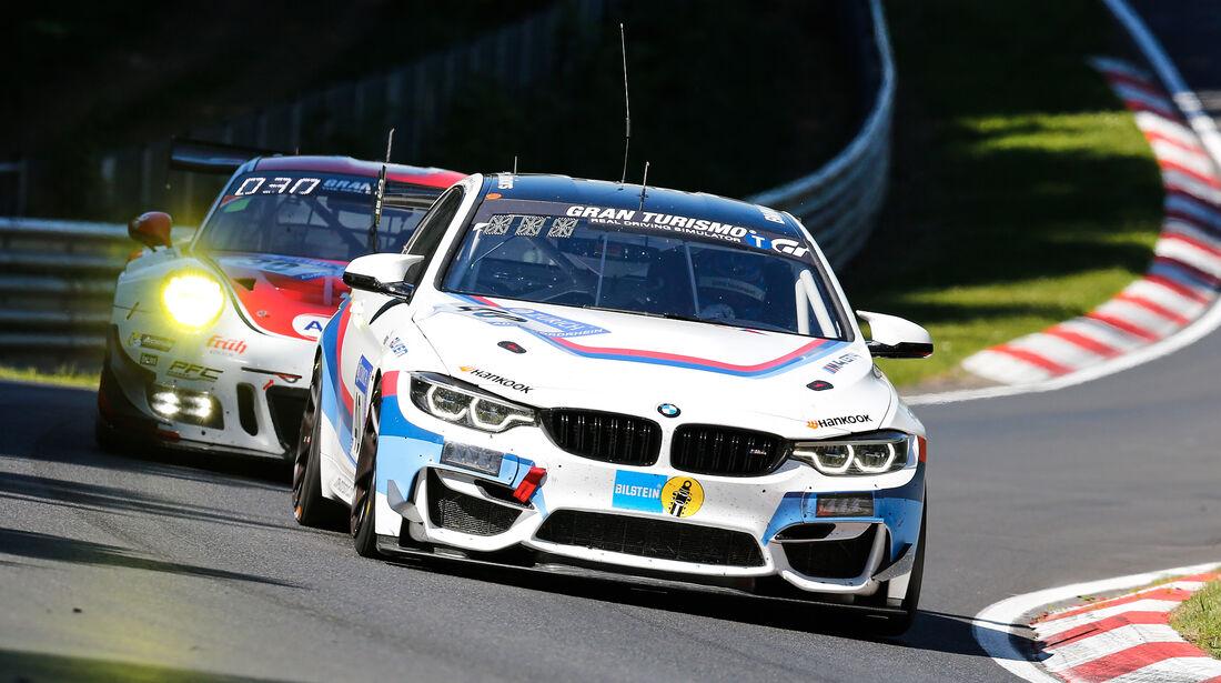 BMW M4 GT4 - Startnummer #40 - 2. Qualifying - 24h-Rennen Nürburgring 2017 - Nordschleife