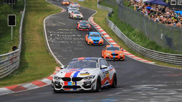BMW M4 GT4 - Startnummer #73 - 24h-Rennen Nürburgring - Nordschleife - Samstag - 12.5.2018