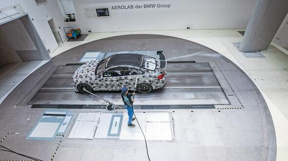 BMW M4 GT4, Strömungskanal, Technik